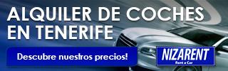 Alquiler de vehiculos en Tenerife